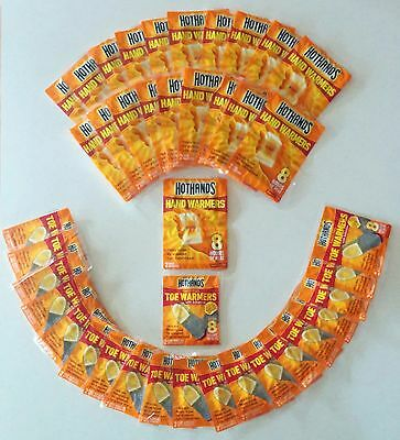 HotHands 20 Pairs Hand Warmers & 20 Pairs Toe Warmers - (80 Warmers)
