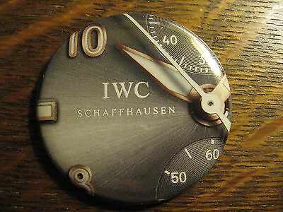 IWC Schaffhausen Pocket Mirror - Repurposed Watch Magazine Ad Lipstick Mirror