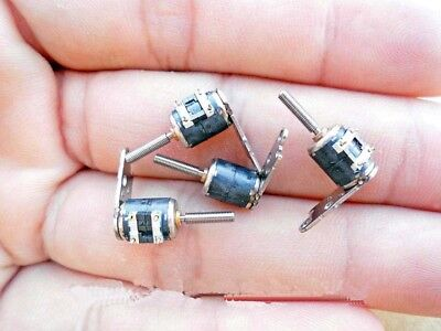10PCS  Stepper Motors With Two-Phase Four-Wire Canon 6MM Division Pole Miniature