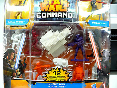 Star Wars Command, Jedi Duell,  12 Figuren, Hasbro A8945
