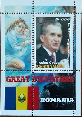 Somalia 2016 the great dictators of the world Romania Nicolae Ceausescu