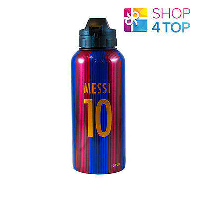 Fc Barcelona Messi 10 Official Football Soccer Club Team Drinks Water Bottle New