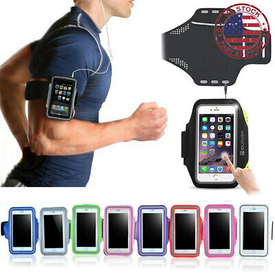For Apple iPhone 7 6s 6 Plus Sports Gym Running Joging Armband Case Cover Holder