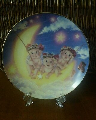 The Hamilton Collection Dreamsicles Plates By Kristin By The Light Of The Moon