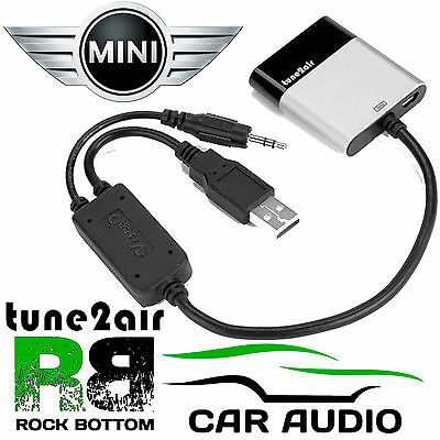 BMW MINI A2DP Wireless Music Streaming Android iPhone iPod Interface WMA3000B