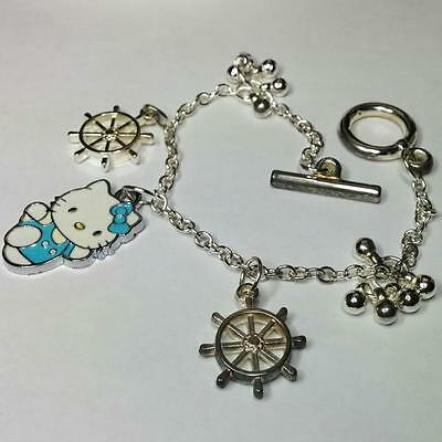 Pulsera plateada Hello Kitty