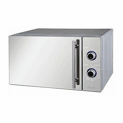 New Wellco Microwave Oven with Grill Mirror Finish 20L 800w MW201