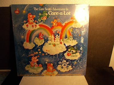 Care Bears Adventures In Care-A-Lot Record Album New Unopened