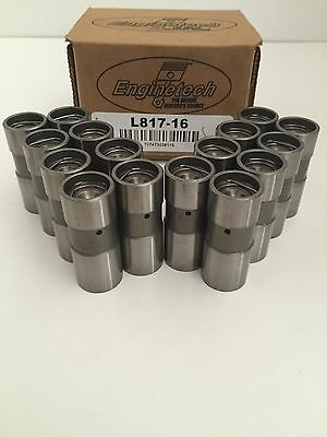 SBC BBC Small Block Chevy Hydraulic Flat Tappet Lifters 283 350 454 Made In USA