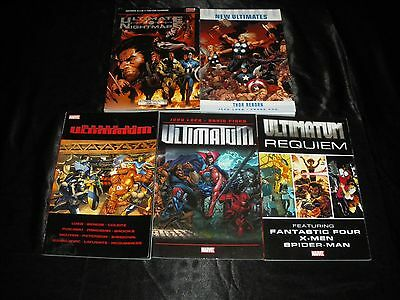 Ultimate Nightmare New Ultimates  March On Ultimatum Ultimatum 1 - 5 Requiem Tpb