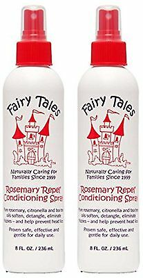 FAIRY TALES Rosemary Repel Lice Prevention Leave-In Conditioning Spray 8 oz 2-pk