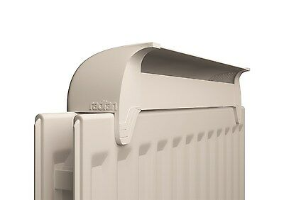 Radfan Low Power Radiator Fan Increase Home's Warmth with Automatic Thermostat