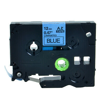 Black Print on Blue Label Compatible for Brother TZ531 TZe531 Tape P-touch 12mm