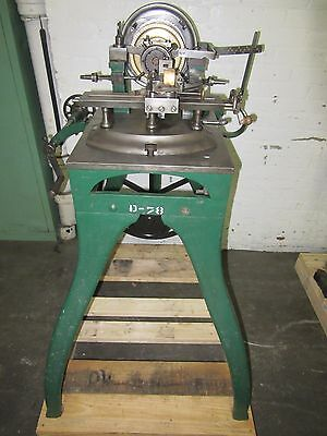 Rare Antique F A Hall Rotary Rose Engine Turning Guillochet Machine