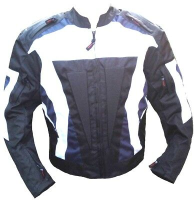 Motorcycle Scooter Textile Jacket Waterproof Rider CE Armour Protection Jacket