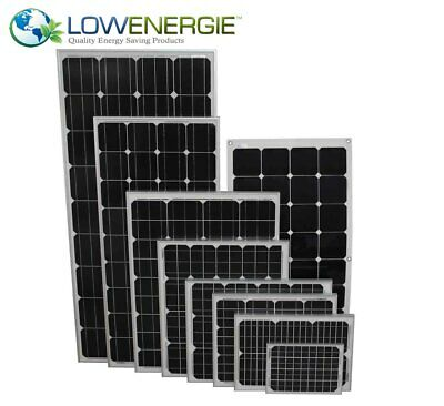 Solar Panels Premium Quality PV Photo-voltaic Panel MC4 Connectors Boat Caravan