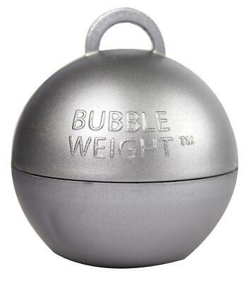 Balloon Weights - 35 Gram Silver Bubble Balloon Weights x 15