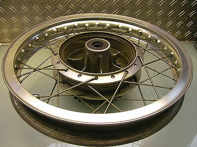 Hinterrad Rad Felge Nabe Speichen Original Xs 650 Rear Wheel Hub Rim Spokes