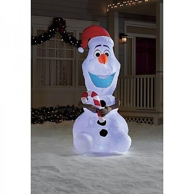 inflatable christmas yard decorations disney frozen olaf