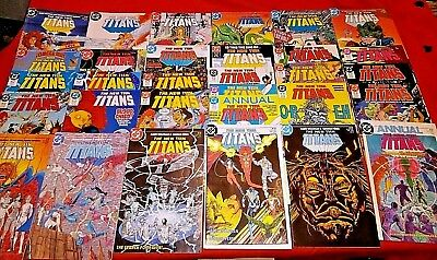 The New Teen Titans 1 -11 16 -19 25 -29 36 38 40 41 42 44 45 46 49 Annual 1 2