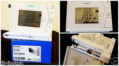 Siemens REV24 7 Day Programmable Room Thermostat 3 On/Off Frost Protection