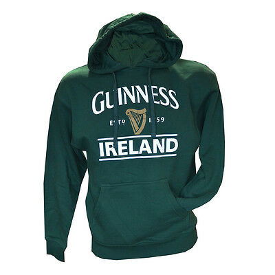 Unisex Guinness Ireland Harp Hoody - Various Sizes