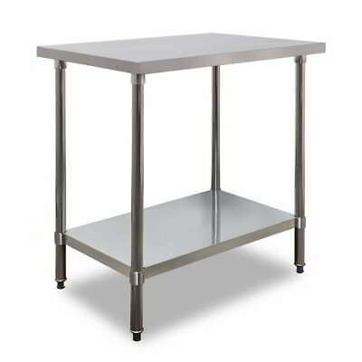 900mm x 700mm New Stainless Steel Kitchen Work Bench Food Prep Catering Table