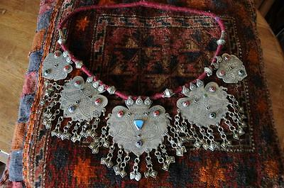 Old Afghanistan Kuchi Pashtun Hand Made Necklace… beautiful nomadic piece...