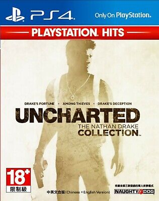 Uncharted: The Nathan Drake Collection HK Chinese/English subtitle Ver PS4 NEW