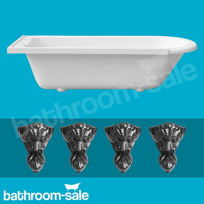Norfolk Right Hand Traditional Roll Top Bath inc Cast Iron Feet RRP £599 GENUINE