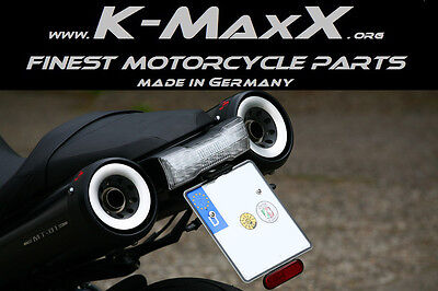 Yamaha MT-01 Typ RP18, Kennzeichenhalter, MADE IN GERMANY, einstellbar