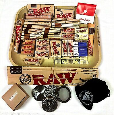 RAW Small/Large/XXL Tray Deals with all Products Fully Loaded Gift Sets