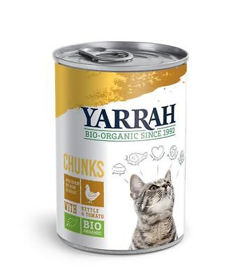 Yarrah Chicken Chunks In Sauce With Nettle & Tomato 405g