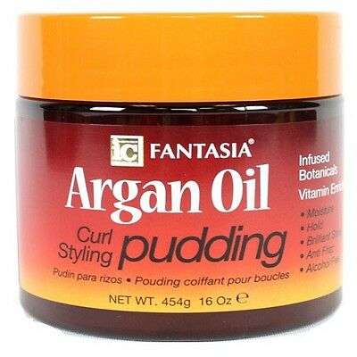 Fantasia IC Argan Oil curl styling Pudding 16oz