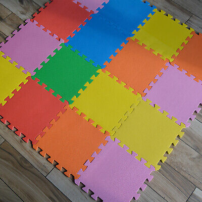 Eva Interlocking Flooring Activity Play Soft Foam Mat Set Tiles Children Kids
