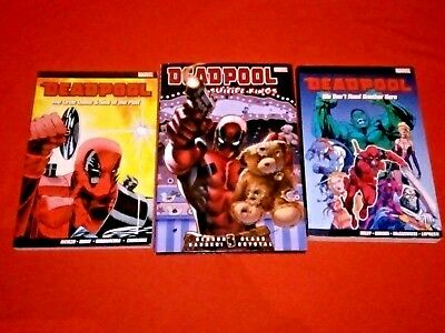 Deadpool The Circle Chase & Sins Of The Past & We Don't Need Another Hero Tpb Nm