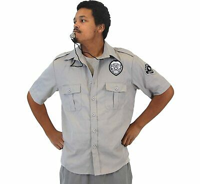 Friday After Next Top Flight Security Shirt and Whistle Adult Costume Set