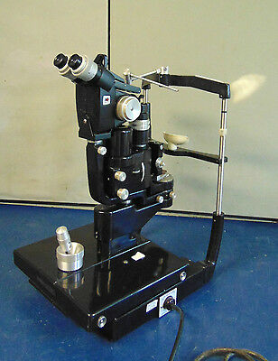 "American Optical Slit Lamp Model 11575 ""Good Condition"" S1538"