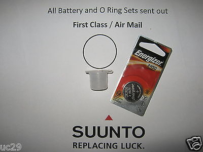 SUUNTO. Energizer D6, D6i, Battery Kit. ( With Free Grease)