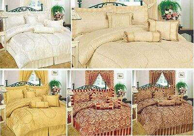 7pcs Amazon Comforter Set/Complete Bedspread (Double, King and Super King)