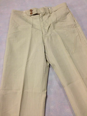 Trouser Sand Brown Vintage Boys / Mens 1970's Leisure Pant Clothing Golf Light