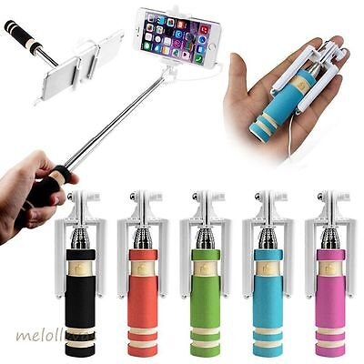 Palo Mini Selfi Selfie Con Boton Disparador Cable Monopod Camara Iphone Colores