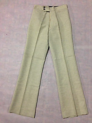 Trouser Sand Cream Beige Vintage Boys / Mens 1970's Leisure Pant Clothing Golf