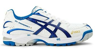Asics Gel Hardwicket 4 Mens Cricket Shoe (D) (0156)  + Free Aus Delivery