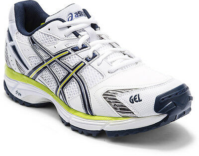 Asics Gel Hardwicket 5 Mens Cricket Shoe (D) (0168) + Free Aus Delivery
