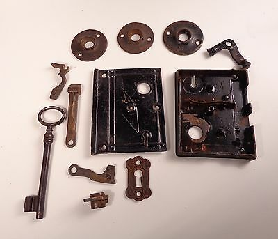 Assortment of Miscellaneous Antique Door Hardware