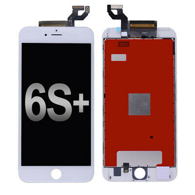 """White LCD Screen 3D Touch Digitizer + Bezel Frame For iPhone 6S Plus 5.5"""" USA"""