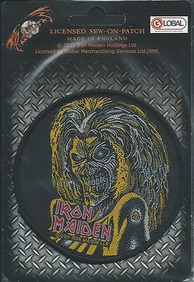 Official IRON MAIDEN Killers Sew-on Patch Eddie
