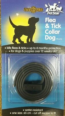 Quality Waterproof Water Resistant Flea & tick Collar for Dogs Puppies 65cm