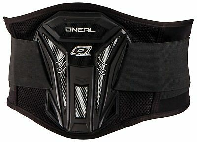 Oneal NEW 2016 Mx PXR Black Lower Back Motocross Dirt Bike Enduro Kidney Belt